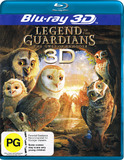 Legend of the Guardians: The Owls of Ga'Hoole (3D + 2D Blu-ray) (2 Disc Set) on Blu-ray