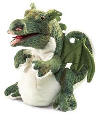 Folkmanis Hand Puppet - Baby Dragon
