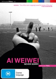 Ai Weiwei: Never Sorry on DVD