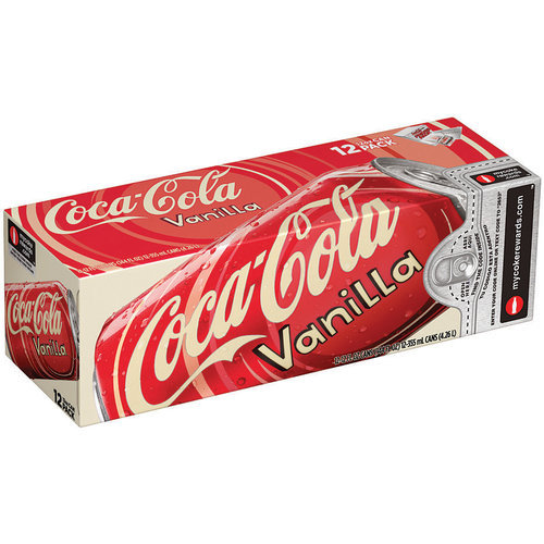 Vanilla Coke 355ml (12 Pack)
