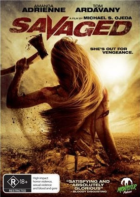 Savaged on DVD image