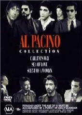 Al Pacino Box Set: Carlito's Way, Sea of Love, Scent of a Woman on DVD