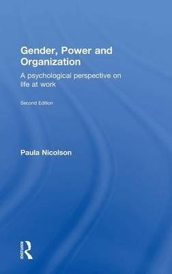 Gender, Power and Organization by Paula Nicolson image
