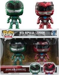 Power Rangers Movie - Rita & Zordon Pop! Vinyl 2-Pack