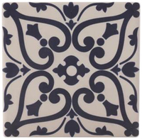 Maxwell & Williams Medina Ceramic Square Tile Coaster - Maarif (9cm)