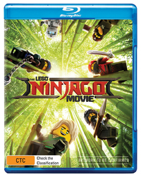 The Lego Ninjago Movie (Blu-ray + UV) on Blu-ray