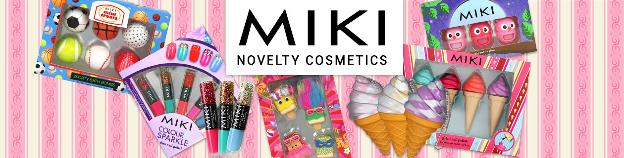 Miki My First Makeup Kids Range