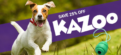25% OFF Kazoo Pet Products