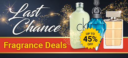 Up to 45% off Last Chance Fragrance Deals!