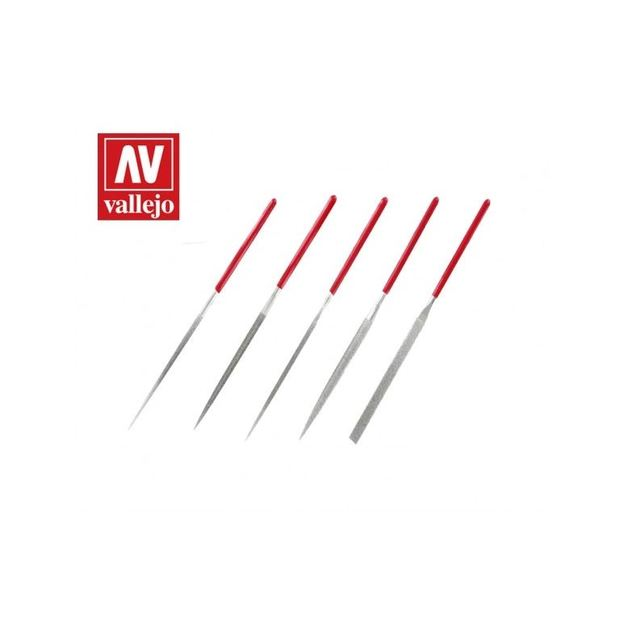 Vallejo Tools - Diamond Needle File Set (5)