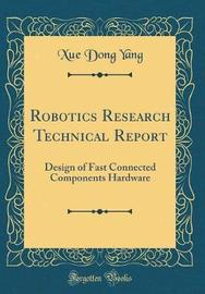 Robotics Research Technical Report by Xue-Dong Yang image