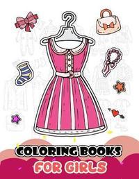 Coloring Books for Girls by V Art
