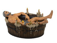 The Witcher 3: Geralt in the Bath Statuette