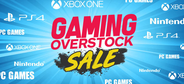 Gaming Overstock Sale