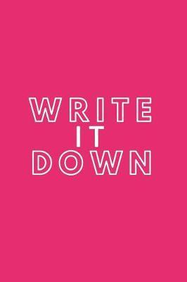 Write it Down by Happy Day