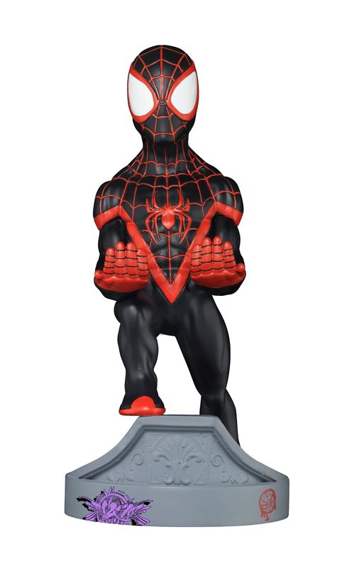 Cable Guy Controller Holder - Miles Morales Spiderman for PS4