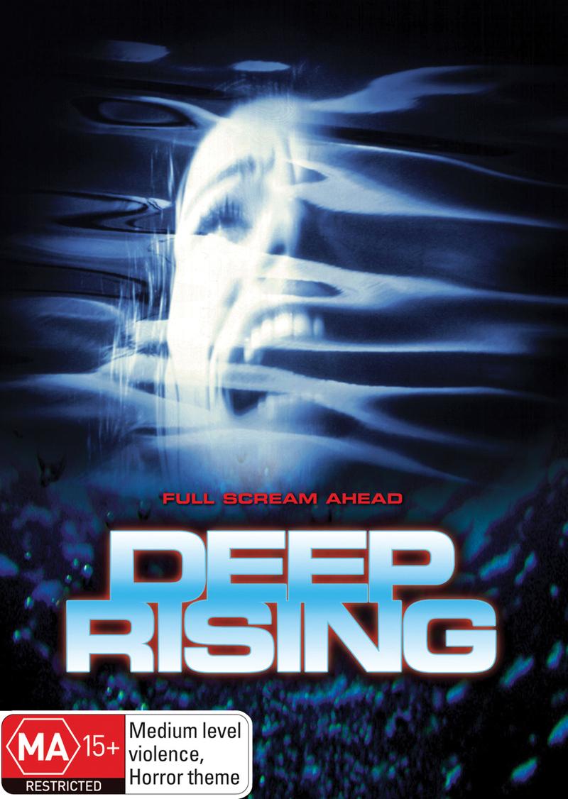 Deep Rising on DVD image