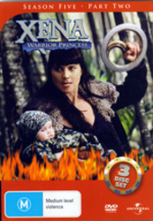 Xena - Warrior Princess: Season 5 - Part 2 (3 Disc Set) on DVD