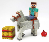 Minecraft Steve with Horse Figure Set Series 2