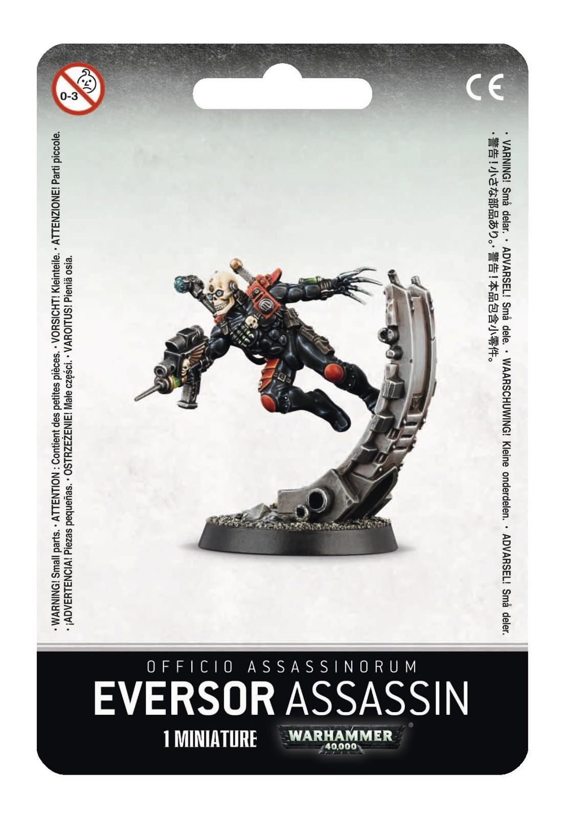 Warhammer 40,000 Officio Assassinorum: Eversor Assassin image