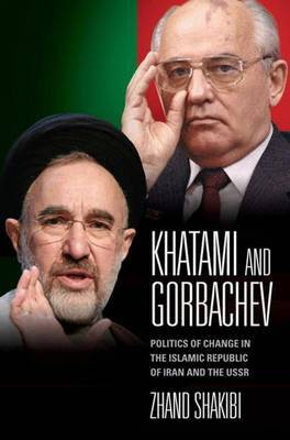 Khatami and Gorbachev by Zhand Shakibi