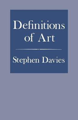 Definitions of Art by Stephen Davies image