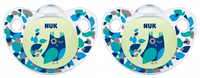 NUK: Glow in the Dark Soother - Blue Owl 18-36 Months (2 Pack)