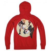 Fallout Nuka Cola Pin-Up Zip-Up Hoodie (Small) image