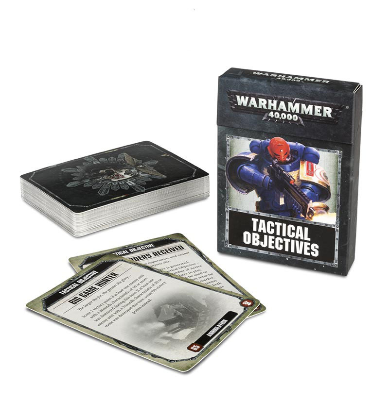 Warhammer 40,000: Tactical Objective Cards image