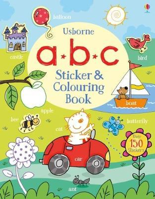 ABC Sticker and Colouring Book by Jessica Greenwell