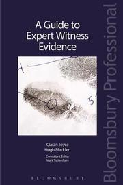 A Guide to Expert Witness Evidence by Ciaran Joyce