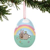 Pusheen: Tin Egg Ornament - Easter Bunny image