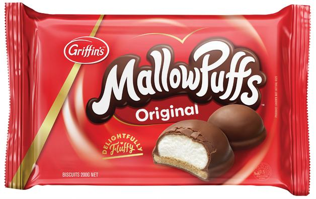 Griffins Chocolate MallowPuffs (200g)