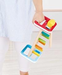 Hape: Rainbow Pounder - Hammer Bench image