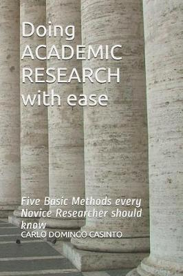 Doing ACADEMIC RESEARCH with ease by Carlo Domingo Casinto