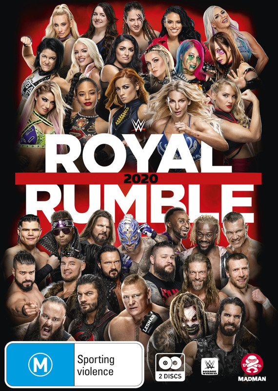WWE: Royal Rumble 2020 on DVD
