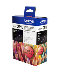 Brother Ink Cartridge LC73BK2PK - 2 Pack (Black)