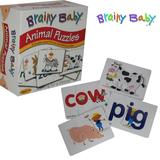 Brainy Baby Animal Puzzle Game