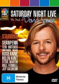 Saturday Night Live: The Best of David Spade on DVD