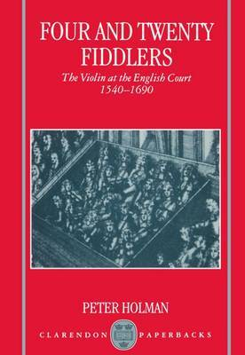 Four and Twenty Fiddlers by Peter Holman image
