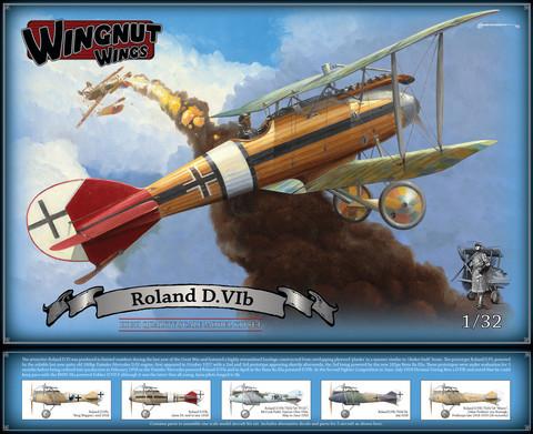 Wingnut Wings 1/32 Roland D.VIb Model Kit