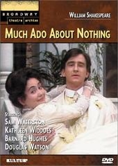 Much Ado About Nothing (Broadway Theatre Archive) on DVD