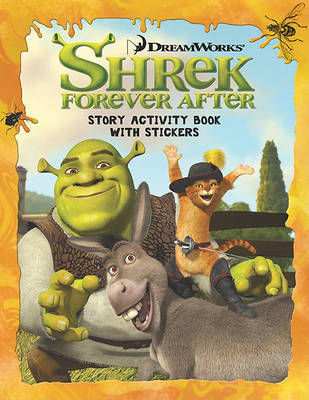 Shrek Forever After: Story Activity Book with Stickers image