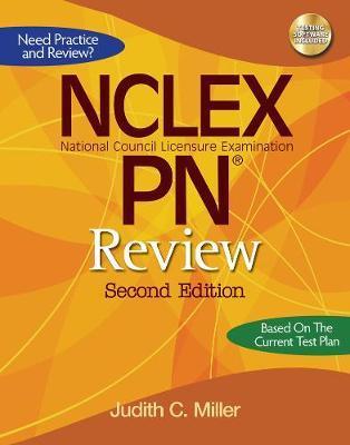 NCLEX-PN Review by Judith C Miller, RN, MSN image