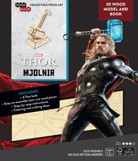 IncrediBuilds: Marvel: Avengers: Thor 3D Wood Model And Book