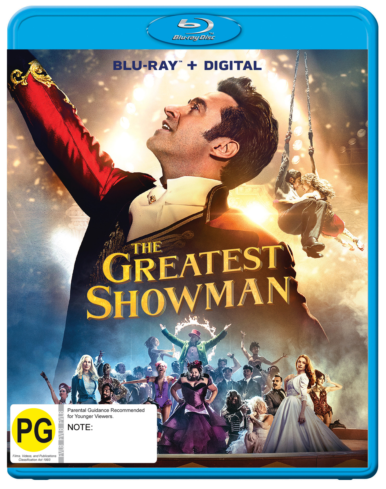 The Greatest Showman on Blu-ray image
