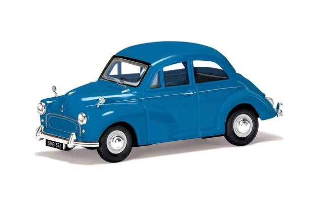 Corgi: 1/43 Morris Minor 1000 (Turquoise) - Diecast Model