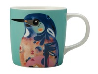 Maxwell & Williams: Pete Cromer Mug - Azure Kingfisher (375ml)