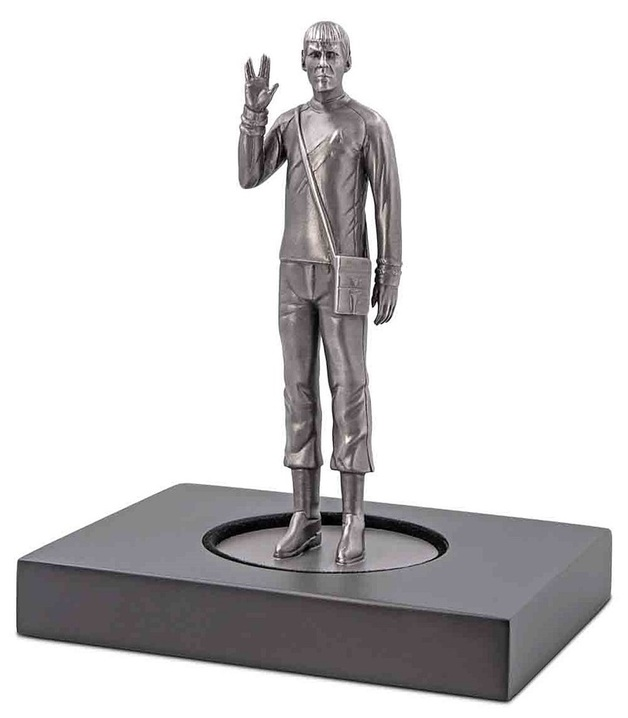 NZ Mint: Star Trek - Silver Miniature - Commander Spock (150g)