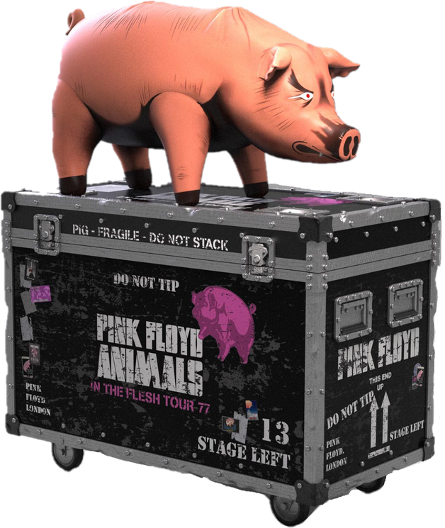 Rock Iconz: Pink Floyd (The Pig) - On Tour Series Replica